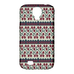 Winter Pattern 5 Samsung Galaxy S4 Classic Hardshell Case (pc+silicone)