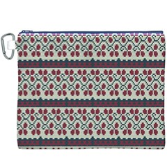 Winter Pattern 5 Canvas Cosmetic Bag (xxxl)
