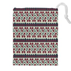 Winter Pattern 5 Drawstring Pouches (xxl)
