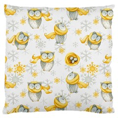 Winter Pattern 6 Large Cushion Case (one Side)