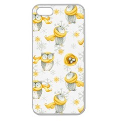 Winter Pattern 6 Apple Seamless Iphone 5 Case (clear)