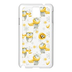 Winter Pattern 6 Samsung Galaxy Note 3 N9005 Case (white)