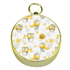 Winter Pattern 6 Gold Compasses
