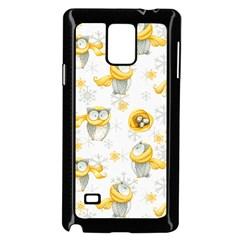 Winter Pattern 6 Samsung Galaxy Note 4 Case (black)