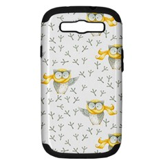 Winter Pattern 7 Samsung Galaxy S Iii Hardshell Case (pc+silicone)