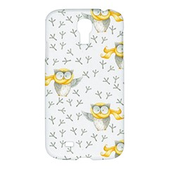 Winter Pattern 7 Samsung Galaxy S4 I9500/i9505 Hardshell Case