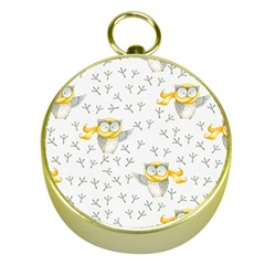 Winter Pattern 7 Gold Compasses