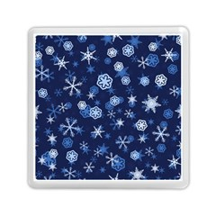 Winter Pattern 8 Memory Card Reader (square)