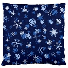 Winter Pattern 8 Large Cushion Case (two Sides)