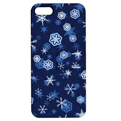 Winter Pattern 8 Apple Iphone 5 Hardshell Case With Stand