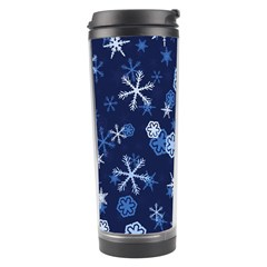 Winter Pattern 8 Travel Tumbler