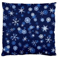 Winter Pattern 8 Standard Flano Cushion Case (one Side)