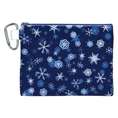 Winter Pattern 8 Canvas Cosmetic Bag (xxl)