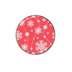 Winter Pattern 9 Hat Clip Ball Marker (10 Pack)