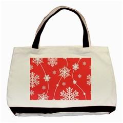 Winter Pattern 9 Basic Tote Bag