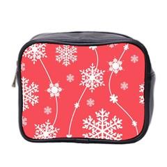Winter Pattern 9 Mini Toiletries Bag 2 Side