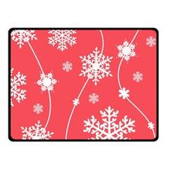 Winter Pattern 9 Fleece Blanket (small)