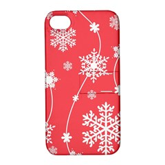 Winter Pattern 9 Apple Iphone 4/4s Hardshell Case With Stand