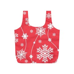 Winter Pattern 9 Full Print Recycle Bags (s)