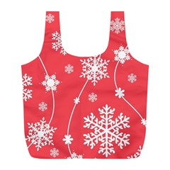 Winter Pattern 9 Full Print Recycle Bags (l)