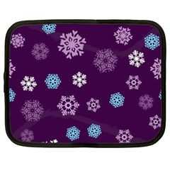 Winter Pattern 10 Netbook Case (xxl)