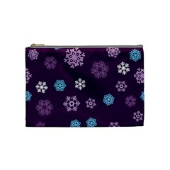 Winter Pattern 10 Cosmetic Bag (medium)