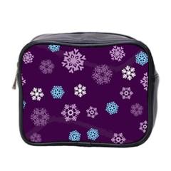 Winter Pattern 10 Mini Toiletries Bag 2 Side
