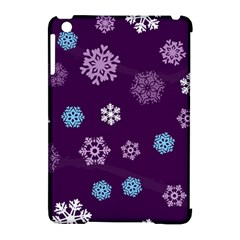 Winter Pattern 10 Apple Ipad Mini Hardshell Case (compatible With Smart Cover)