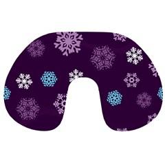 Winter Pattern 10 Travel Neck Pillows