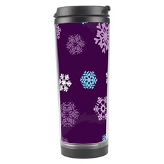 Winter Pattern 10 Travel Tumbler
