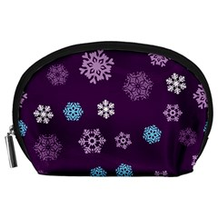 Winter Pattern 10 Accessory Pouches (large)