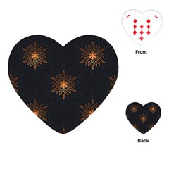 Winter Pattern 11 Playing Cards (heart)
