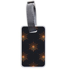 Winter Pattern 11 Luggage Tags (one Side)