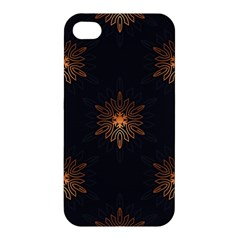 Winter Pattern 11 Apple Iphone 4/4s Premium Hardshell Case