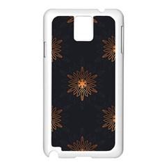 Winter Pattern 11 Samsung Galaxy Note 3 N9005 Case (white)