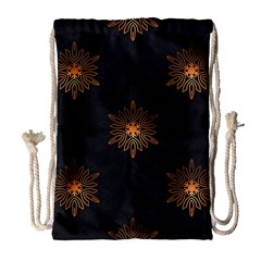 Winter Pattern 11 Drawstring Bag (large)