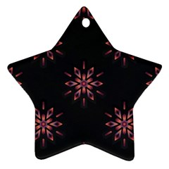 Winter Pattern 12 Ornament (star)