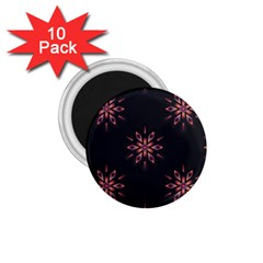Winter Pattern 12 1 75  Magnets (10 Pack)