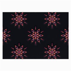 Winter Pattern 12 Large Glasses Cloth (2 Side)