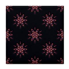 Winter Pattern 12 Face Towel