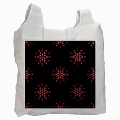 Winter Pattern 12 Recycle Bag (one Side)