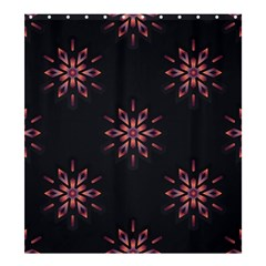 Winter Pattern 12 Shower Curtain 66  X 72  (large)