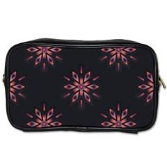 Winter Pattern 12 Toiletries Bags 2 Side