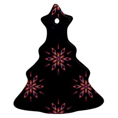 Winter Pattern 12 Christmas Tree Ornament (two Sides)