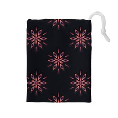 Winter Pattern 12 Drawstring Pouches (large)