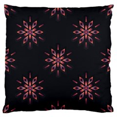 Winter Pattern 12 Large Flano Cushion Case (one Side)