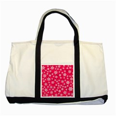 Winter Pattern 13 Two Tone Tote Bag