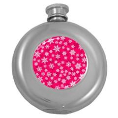 Winter Pattern 13 Round Hip Flask (5 Oz)