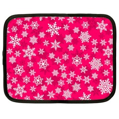 Winter Pattern 13 Netbook Case (xl)