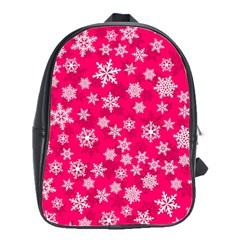 Winter Pattern 13 School Bag (large)